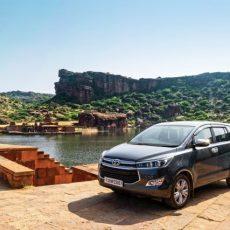 Toyota Innova Crysta to Badami-The Historic Trio