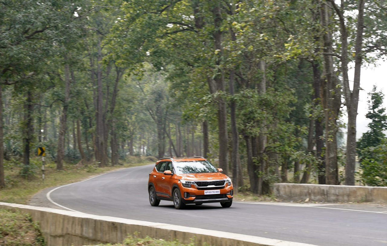 Kia Seltos Tiger Trails To Kanha Tiger Reserve