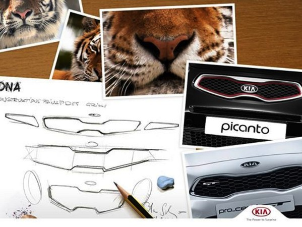Kia Tiger nose grille design