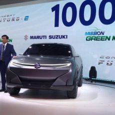 #AutoExpo2020 Maruti Suzuki Reveal Concept Futuro-e