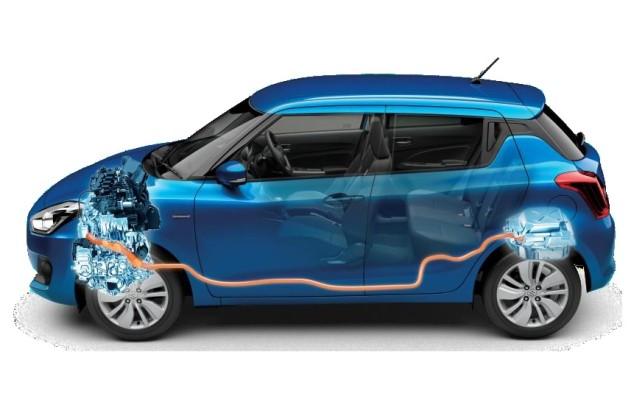 Maruti Suzuki Swift Strong Hybrid