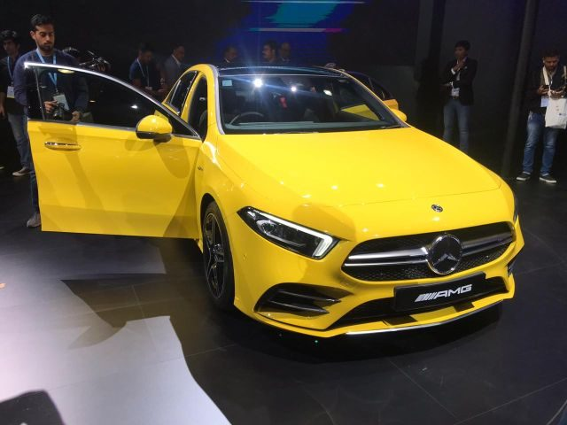 #AutoExpo2020 Mercedes-Benz Unveils A Host Of Vehicles