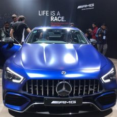 #AutoExpo2020 Mercedes at Auto Expo – AMG GT 63 S Launched