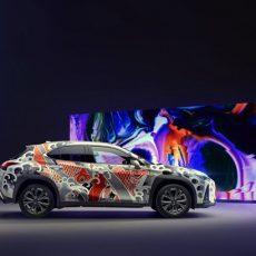 Lexus Unveil Unique Tattooed Car