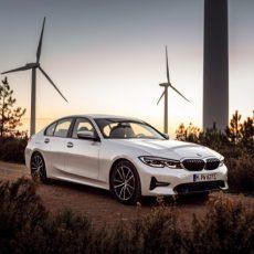 New BMW 330e Plug-in Hybrid Sedan