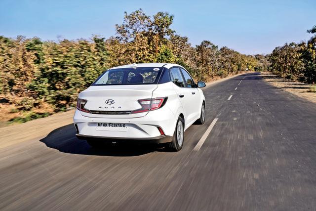 Hyundai Aura rear