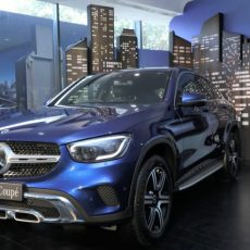 Made-in-India Mercedes-Benz GLC Coupe Launched