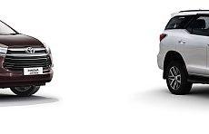 Toyota Innova Crysta and Fortuner Retain Heavy Segment Market Share