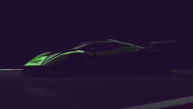 Lamborghini Teases 830 hp Hypercar