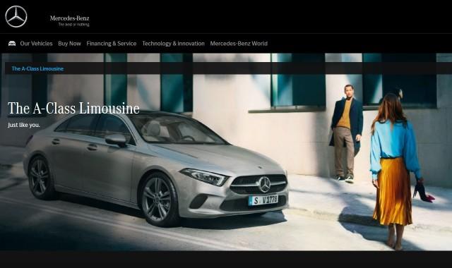 #MercFromHome Mercedes A Class Sedan