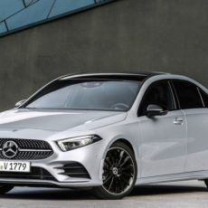 New Mercedes A-Class Sedan Specifications Detailed