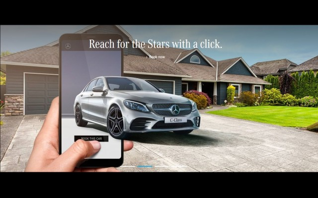 #MercFromHome Mercedes C Class