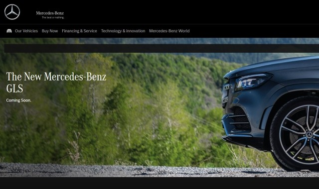 #MercFromHome Mercedes GLS Class