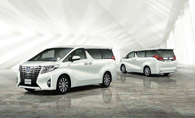 Toyota Alphard Limited Edition WEB