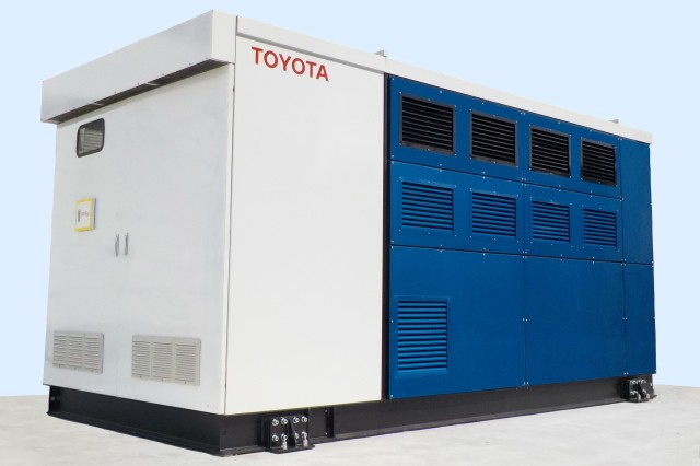 new Toyota Mirai FC Generator