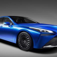 Enhanced Hydrogen Fuel Cell Tech for New Toyota Mirai