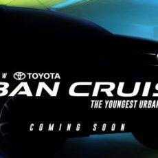 Toyota Urban Cruiser August Launch
