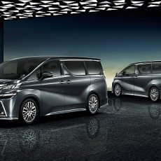 Limited Edition Toyota Vellfire and Alphard Unveiled