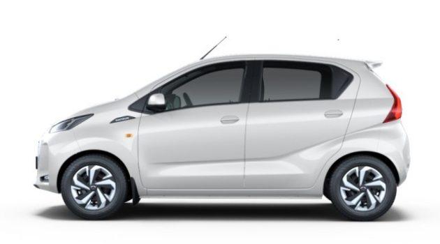 the side design of 2020 Datsun redigo hasnt changed