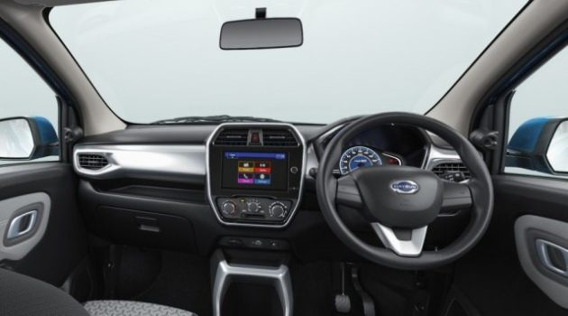 new datsun redigo gets more cabin features and touchscreen