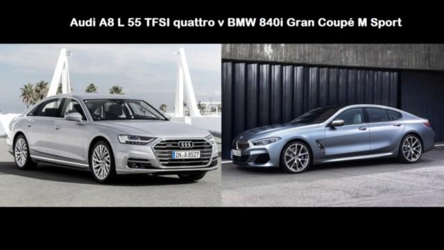 Audi A8 v 840i BMW
