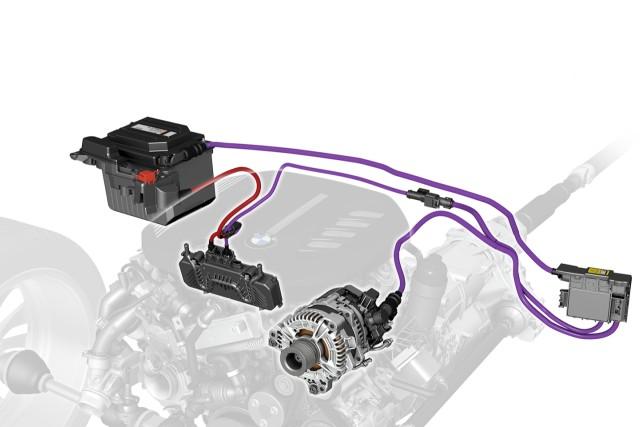 BMW 48-volt mild hybrid