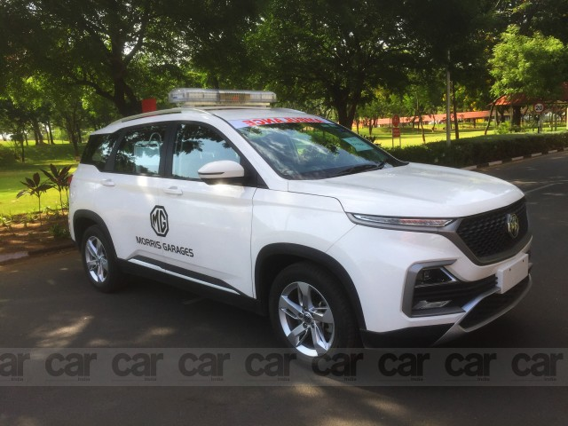 MG Hector ambulance to fight Corona virus