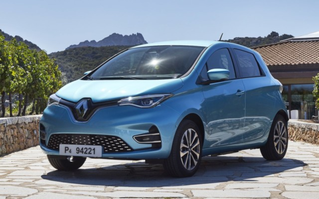 Electric cars India Renault ZOE