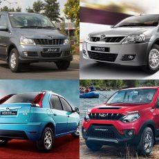 BS4 Mahindra Xylo, Verito, Verito Vibe and NuvoSport Discontinued