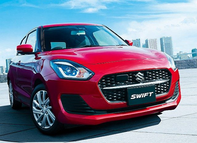 Maruti Suzuki Swift 2020 Japan WEB