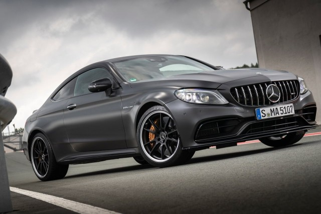 Mercedes-AMG C 63 Coupe LAUNCH