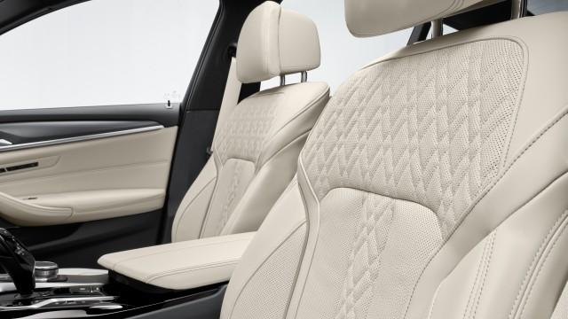 New BMW 5 Series Inside