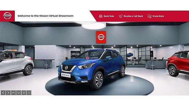 Nissan Virtual Showroom - Image 1 WEB