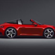 All-new 992-gen Porsche 911 Targa Models Revealed
