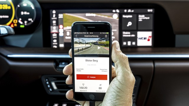Porsche Go Digital Track Precision App Update