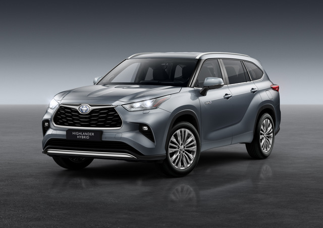 Toyota Launch 2021 Highlander in Europe