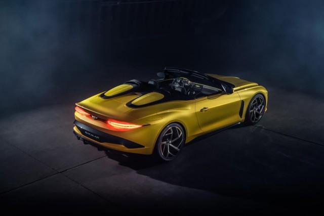 Bentley Rainbow Yellow Flame
