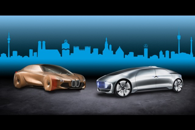 BMW and Mercedes Automated Driving
