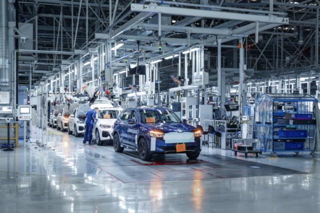 BMW iX3 Production