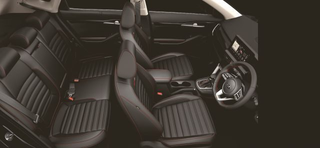 Black Leatherette Interior now available in Kia Seltos GTK and GTX version WEB