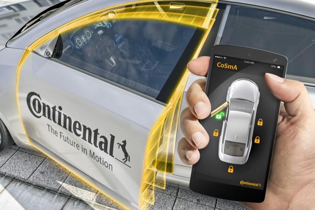 Continental CoSmA smartphone key