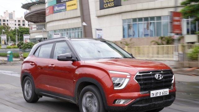 Hyundai Creta petrol automatic tested by Car India