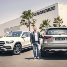 Mercedes-Benz Introduce GLE 450 and 400 d Variants
