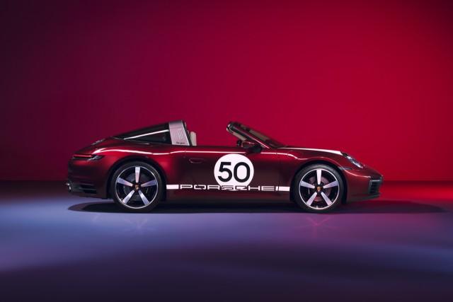 Porsche 911 Targa 4S Heritage Design Edition