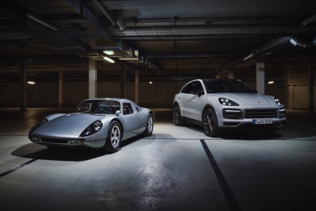 Porsche Cayenne GTS Coupe 2020 and 904 Carrera GTS 1964