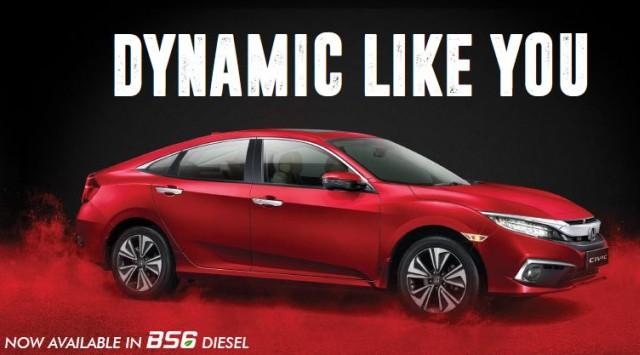 Honda Civic Diesel BS6 Booking Open in India