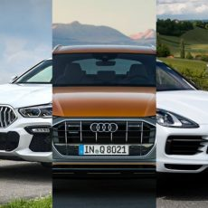 Coupe SUV Slug-fest: BMW X6 v Audi Q8 v Porsche Cayenne Coupe