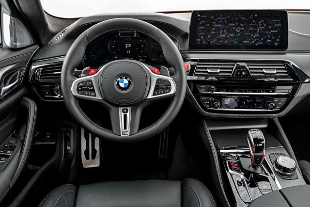 new BMW M5 and M5 Competition