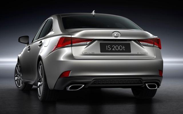 new Lexus IS 2021
