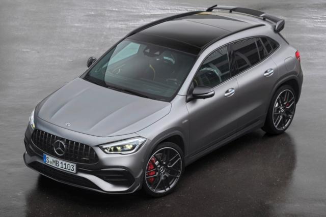 new Mercedes GLA 45 S